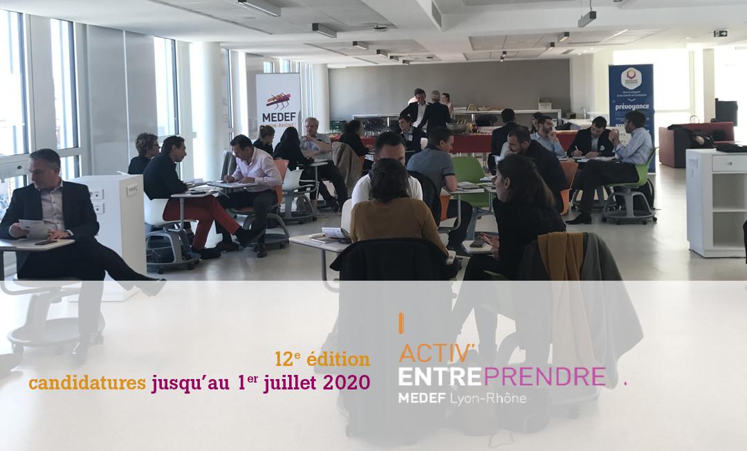 Appel à candidatures pour la promotion 2020 d'Activ'Entreprendre