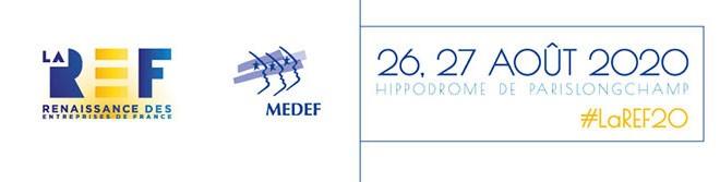 La REF 2020 les 26 et 27 août 2020