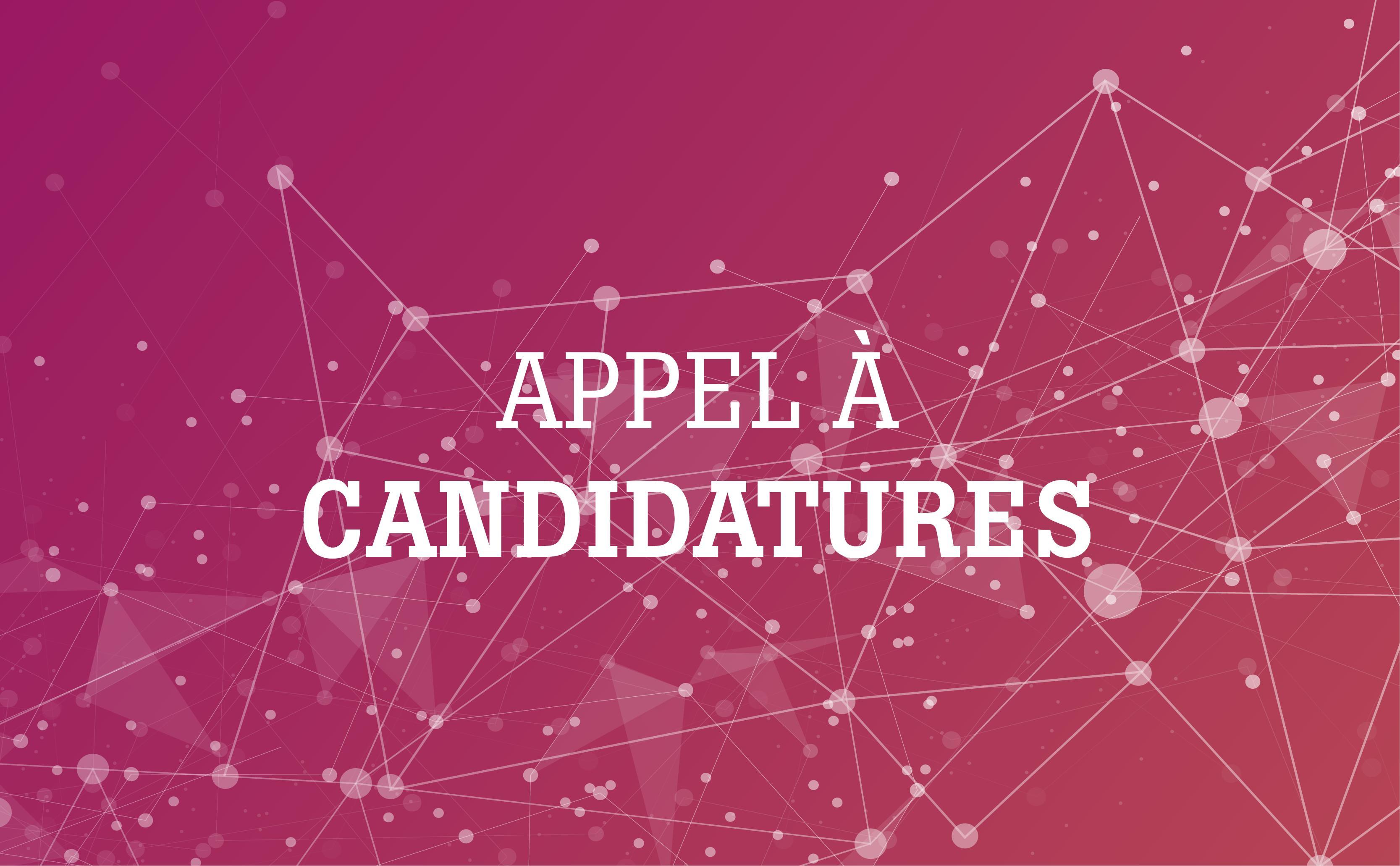 Mandats : appel à candidatures