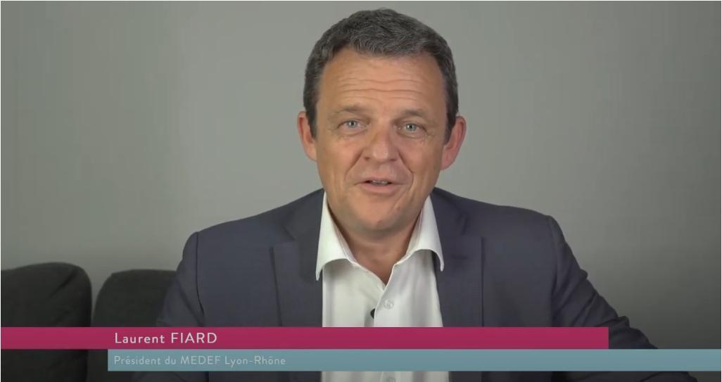 La métamorphose par Laurent Fiard, Président du MEDEF Lyon-Rhône