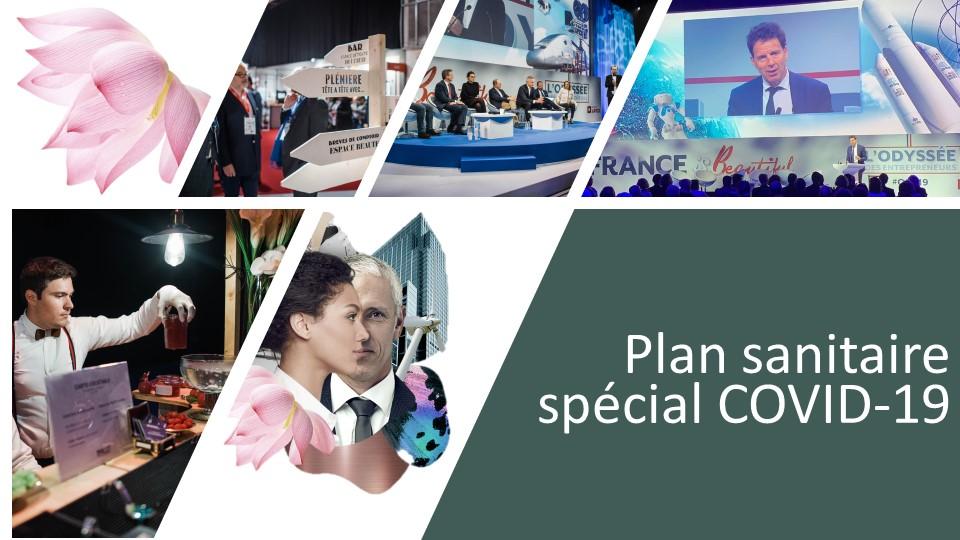 Plan sanitaire spécial COVID-19 : pour une Odyssée des entrepreneurs sécurisée et respectueuse des mesures gouvernementales et de la santé de chacun