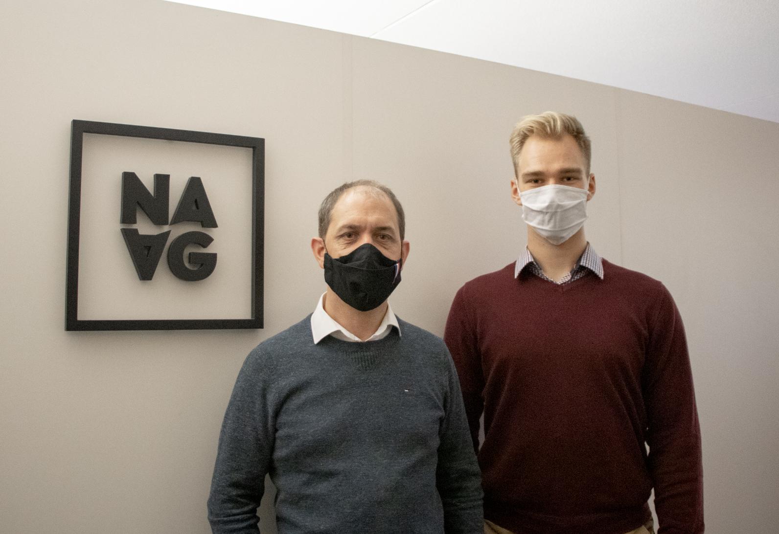 Laurent Constantin et Dominik, engagés en faveur de l'alternance