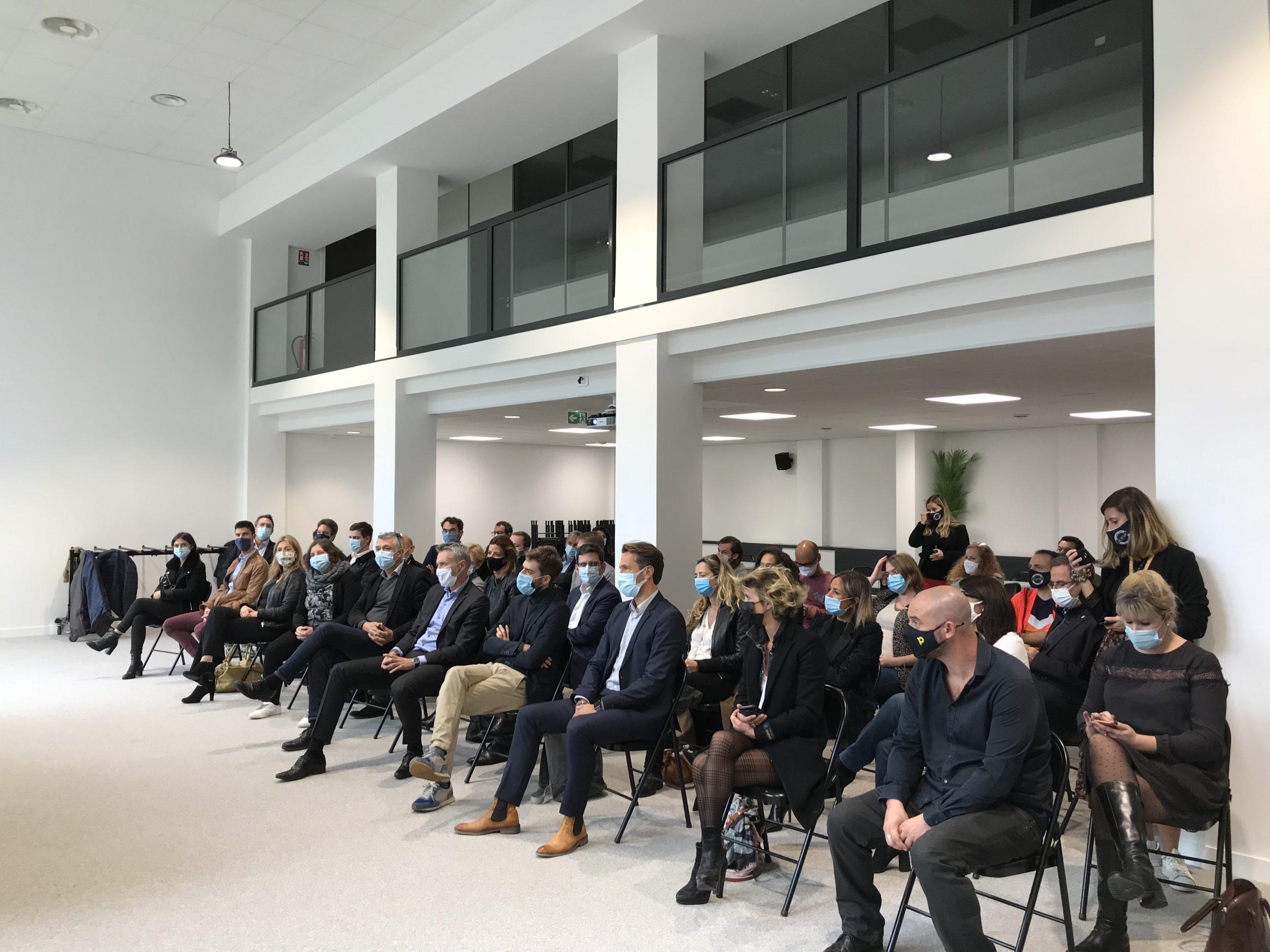 Lancement officiel de la promotion Activ'Entreprendre 2020, en présence des parrains et des filleuls bénéficiaires du programme porté par le MEDEF Lyon-Rhône et soutenu par Harmonie Mutuelle