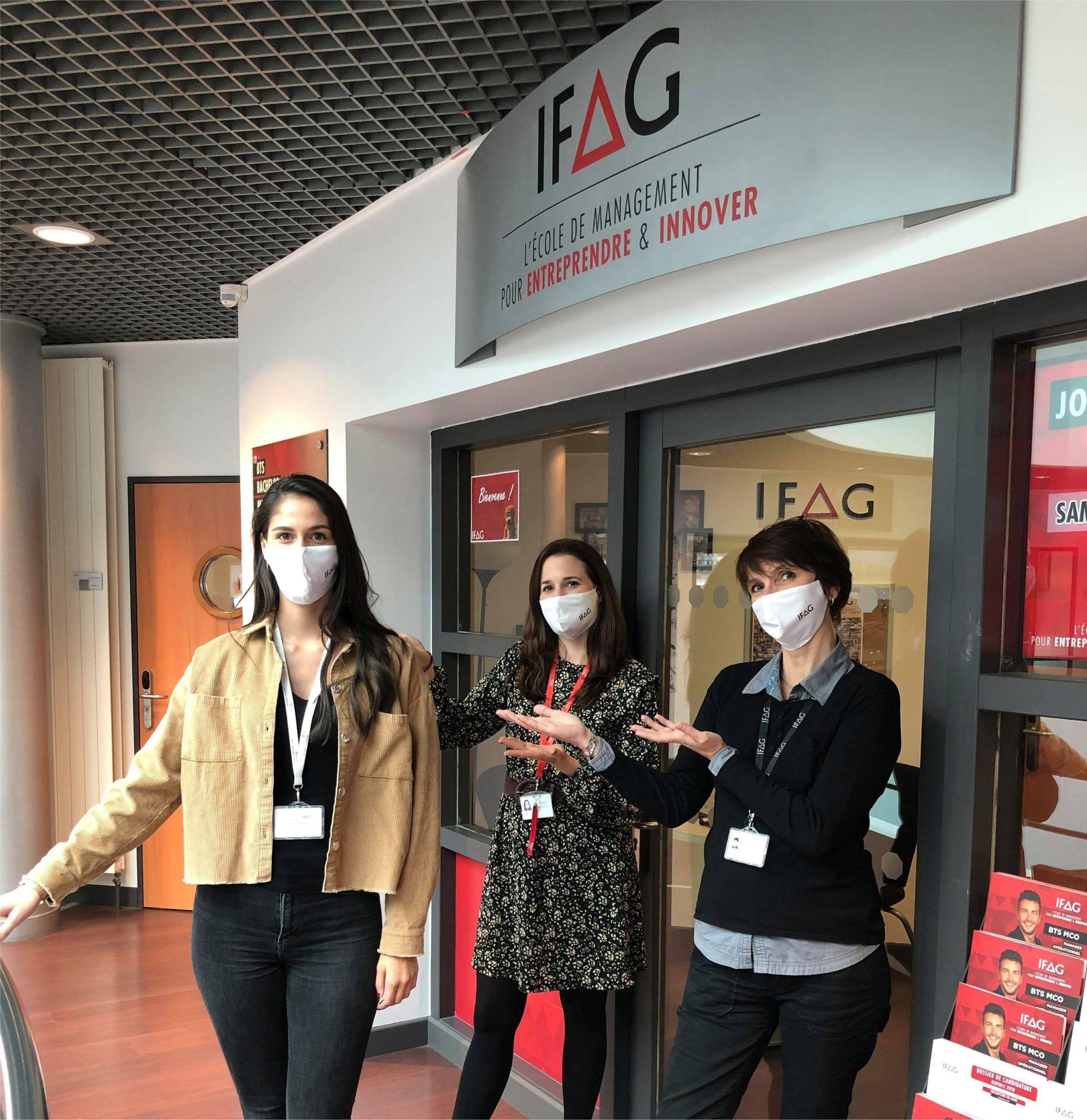IFAG Lyon adhérent engagé en faveur de l'alternance
