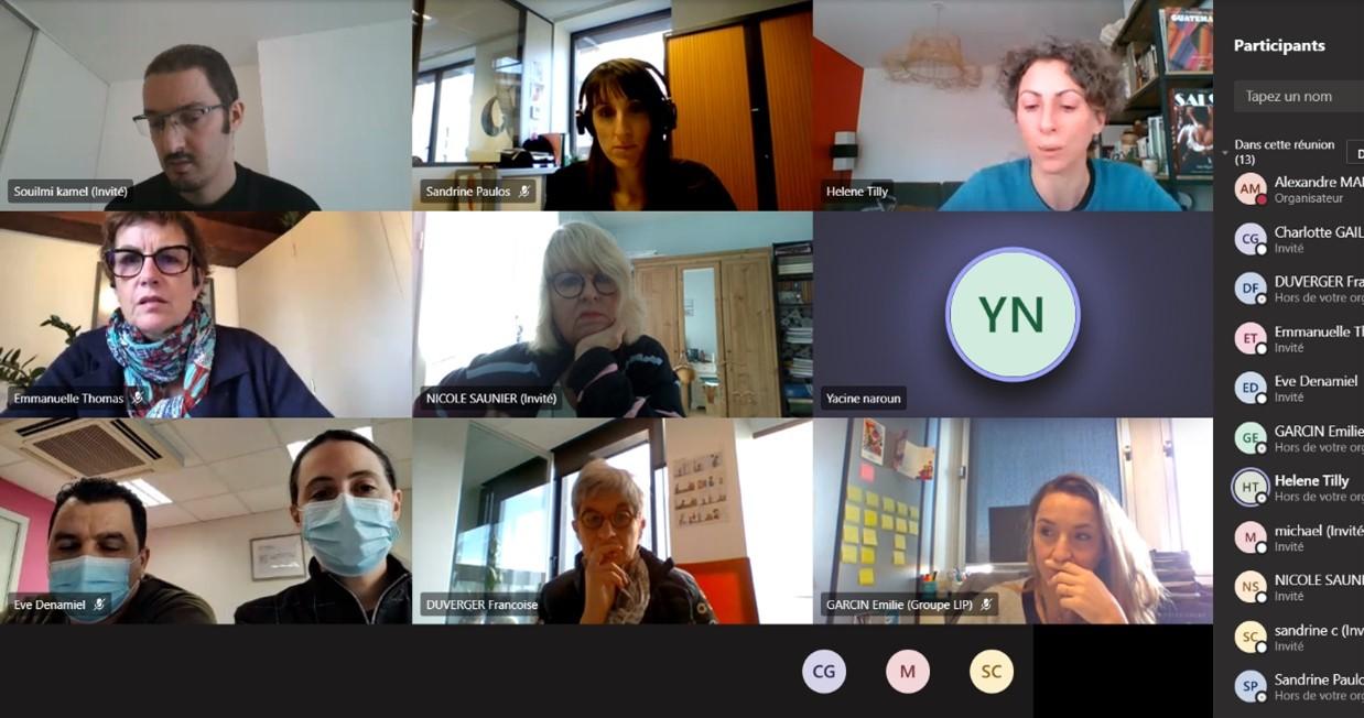 La Mission Handicap du MEDEF Lyon-Rhône a organisé un webcafé pour permettre des échanges bienveillants dans le cadre de la SEEPH 2020