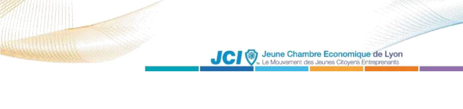 Nouveau président de la JCE de Lyon