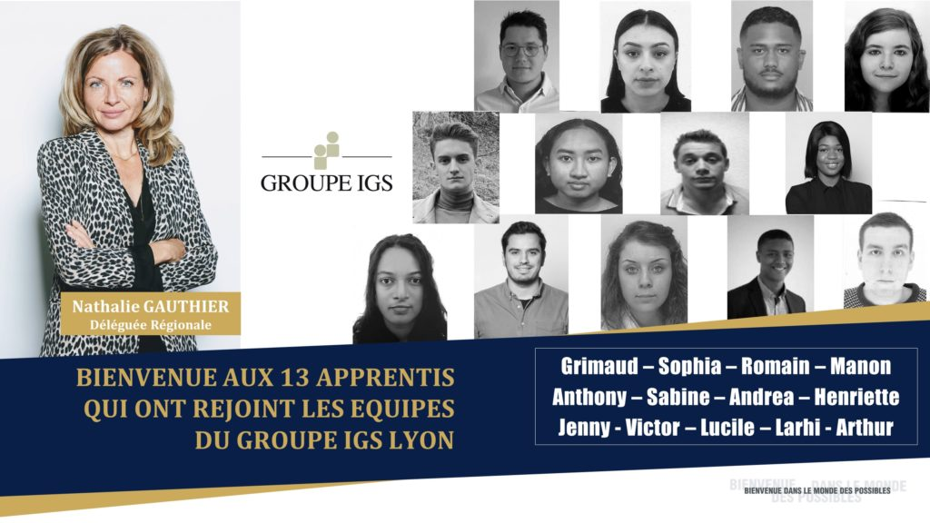 Groupe IGS Lyon, adhérent du MEDEF Lyon-Rhône engagé en faveur de l'alternance et des jeunes talents