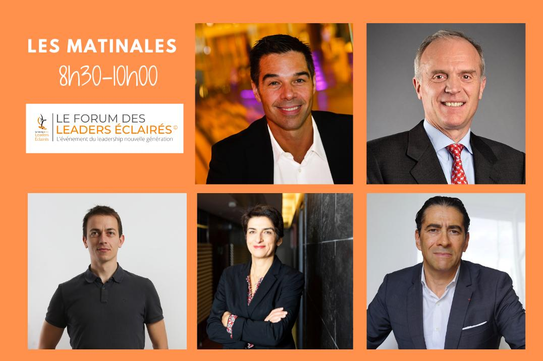 Forum des Leaders Eclairés : participez aux matinales inspirantes en visioconférence