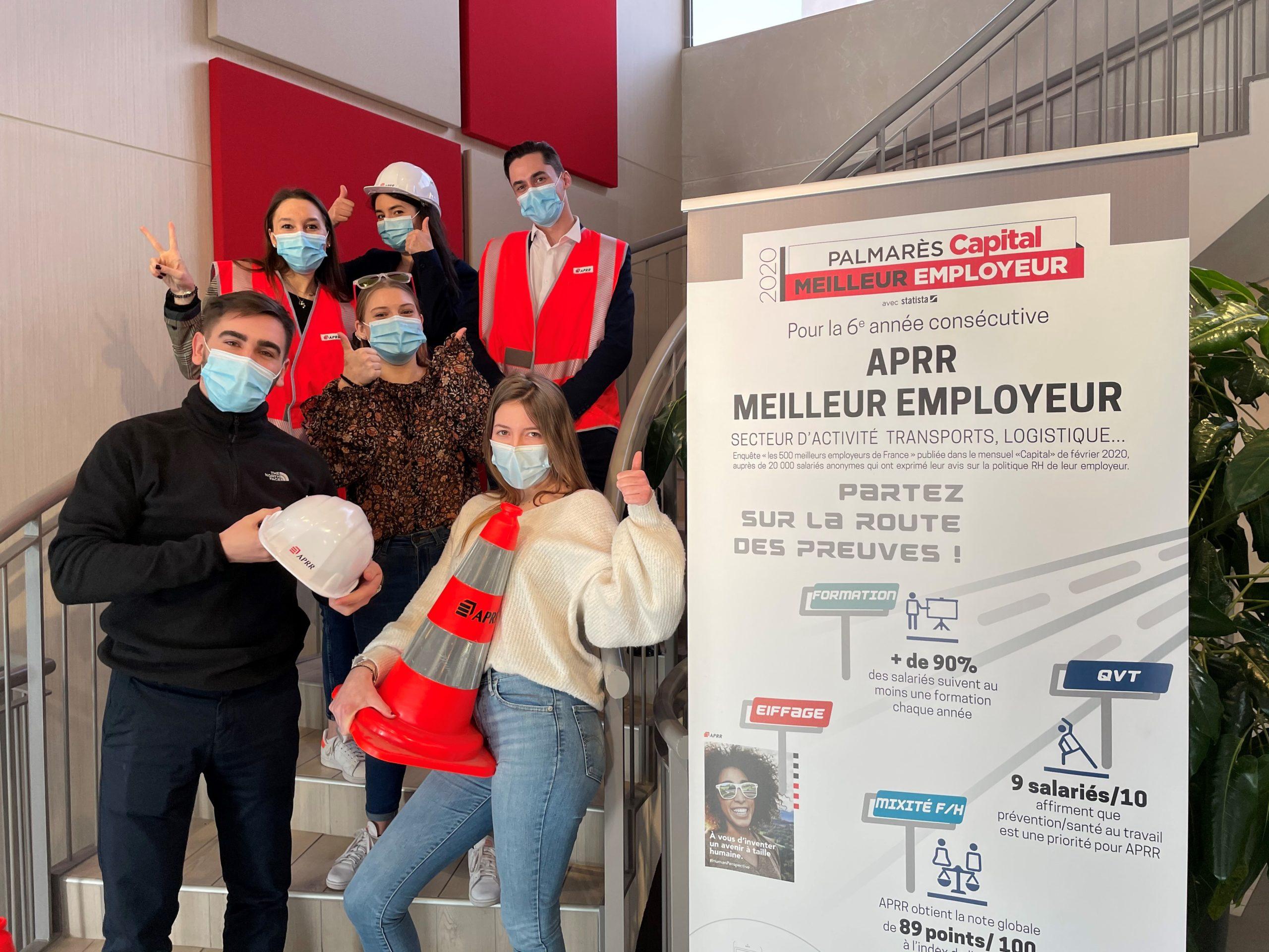APRR, adhérent du MEDEF Lyon-Rhône, engagé en faveur de l'alternance