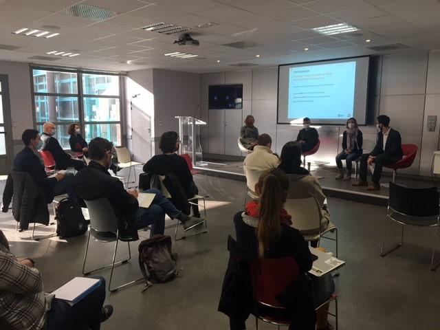 Matinale Innovation en entreprise : l'atout des doctorants. organisée par l'équipe projet porteuse du dispositif Doctor'Entreprise : le MEDEF Lyon-Rhône et l'Université de Lyon